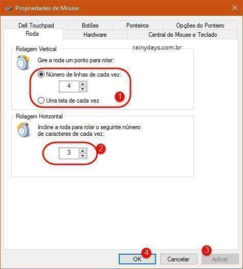 Customizar velocidade do mouse no Windows 10 (6)