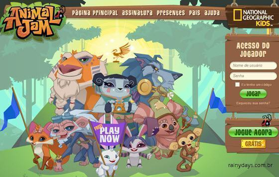 excluir conta do Animal Jam