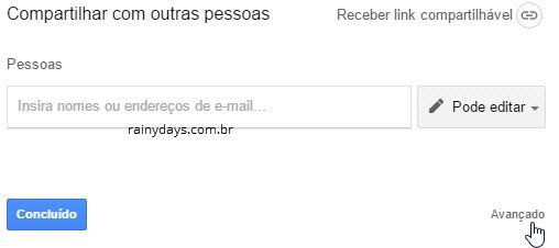 Desativar download de arquivo no Google Drive 1