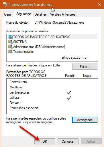 desativar o Narrador do Windows 10 (12)
