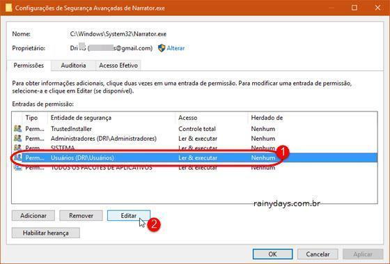 desativar o Narrador do Windows 10 (6)