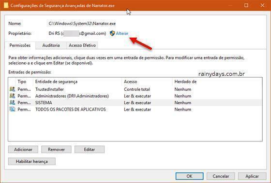 desativar o Narrador do Windows 10 (8)