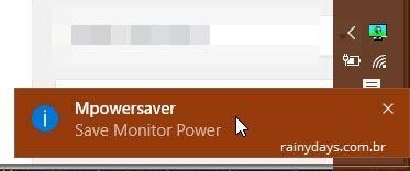 Desligar monitor quando bloquear Windows