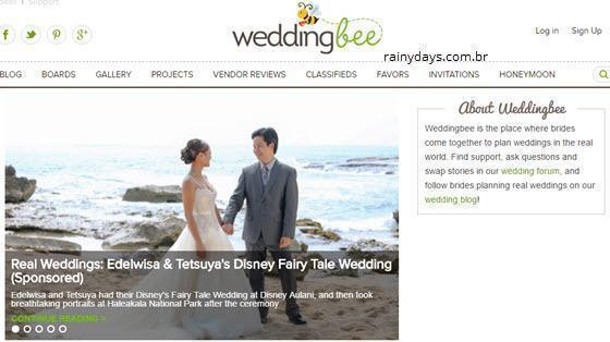 excluir conta do Weddingbee