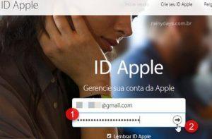 Como mudar email e senha do iCloud ID Apple pelo PC ou celular