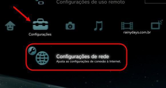 mudar DNS do Playstation 3