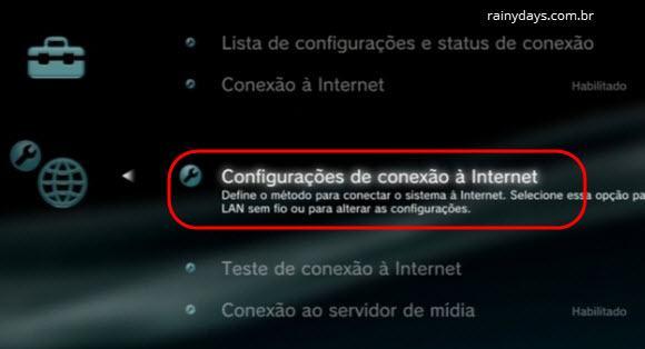 mudar DNS do Playstation 3 (2)