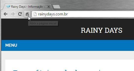Mudar página inicial dos navegadores 4