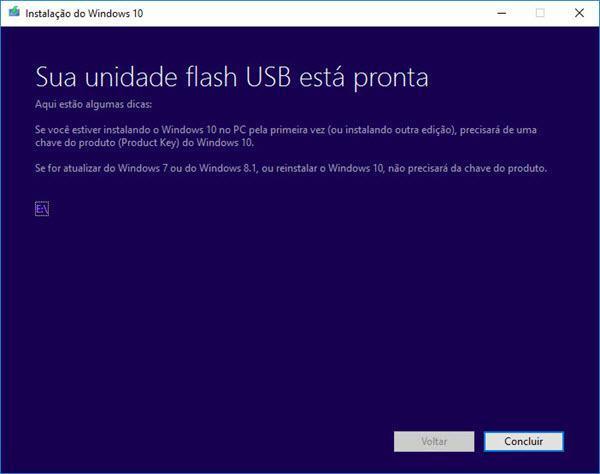 Como criar um pendrive bootável do Windows 10