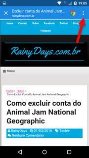 abrir todos os links do Android no Chrome 5