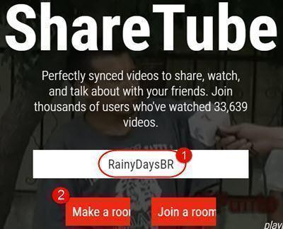 Assistir YouTube sincronizado com amigos online