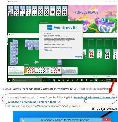 Colocar jogos do Windows 7 no Windows 10