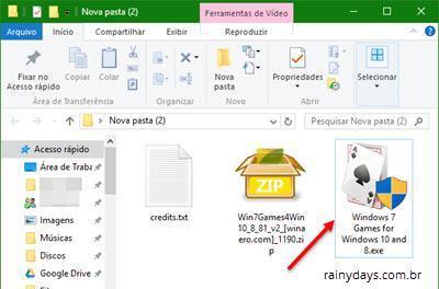 Colocar jogos do Windows 7 no Windows 10 (3)
