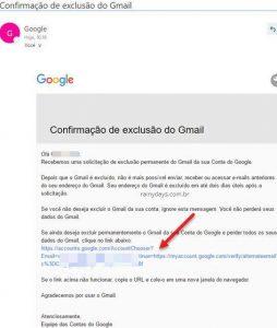 Como excluir apenas conta do Gmail