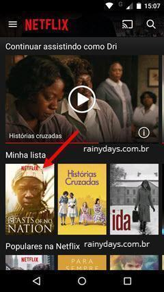 compartilhar filmes do Netflix