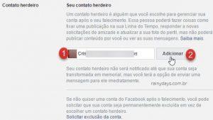 Como deixar conta do Facebook para familiar quando morrer