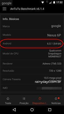 descobrir se Android é 32 ou 64 bit