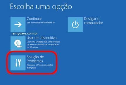 iniciar Windows 10 em modo de segurança 1