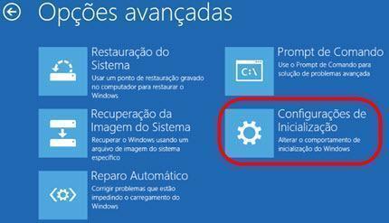 iniciar Windows 10 em modo de segurança 3