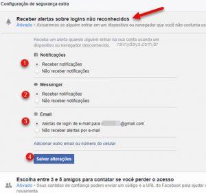 Como deixar conta do Facebook mais segura