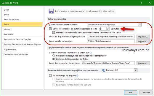 Recuperar arquivo não salvo no Microsoft Office 7