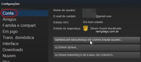 Ativar verificação em duas etapas no Steam 3