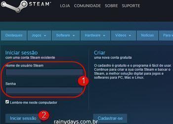 Ativar verificação em duas etapas no Steam 6
