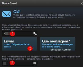 Ativar verificação em duas etapas no Steam 8