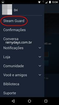 verificação em duas etapas no Steam com app 3