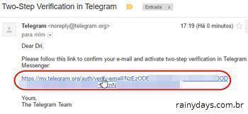 verificação em duas etapas no Telegram 8