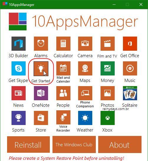 Apagar aplicativos pré-instalados no Windows 10