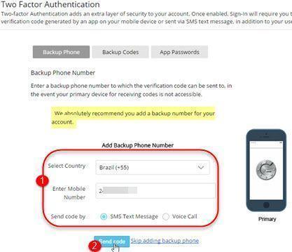 Ativar verificação em duas etapas no Zoho Mail 6