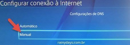 Como mudar DNS do PS4 (5)