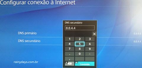 Como mudar DNS do PS4 (8)