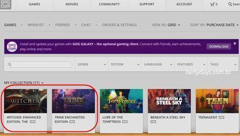 conectar conta GOG com Steam 5