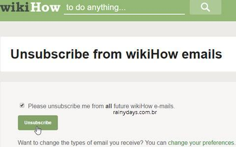 excluir conta do wikiHow 3