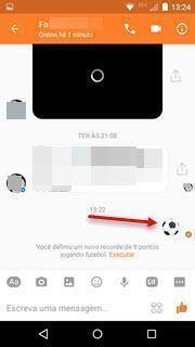 Jogo de futebol secreto no Messenger 2