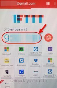 ativar verificação em duas etapas no IFTTT 9
