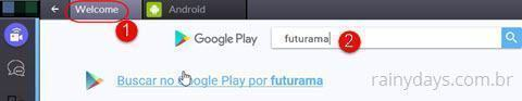 buscas na google play BlueStacks