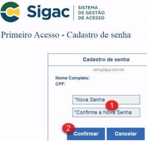 Como cadastrar email no SIGEPE SIGAC e realizar primeiro acesso