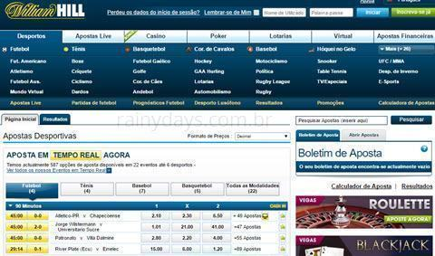 Como excluir conta do William Hill