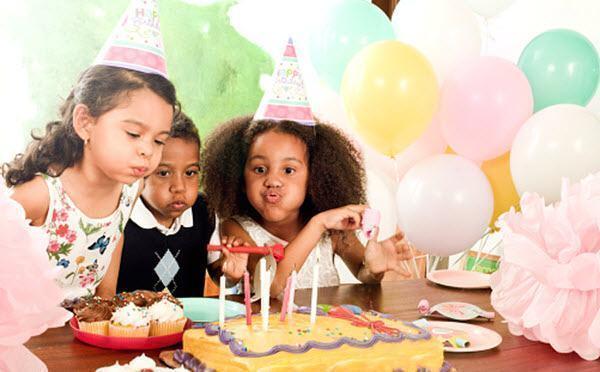 Festa de aniversário barata