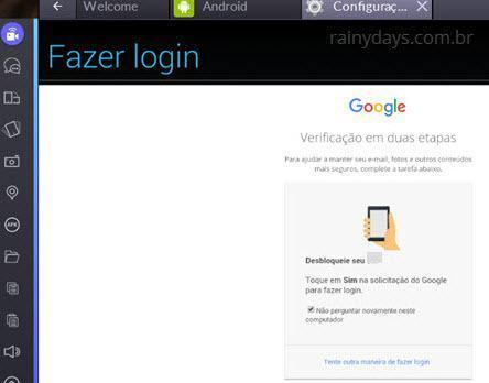 Usar aplicativos do Android no Windows 10