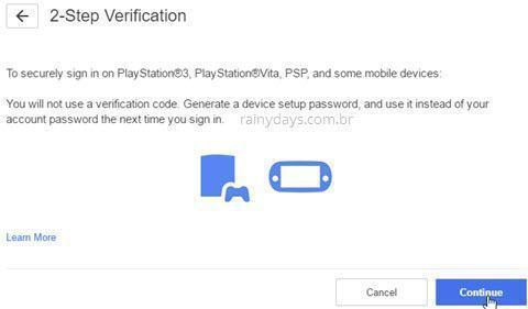 Como ativar verificação em duas etapas na PSN 5