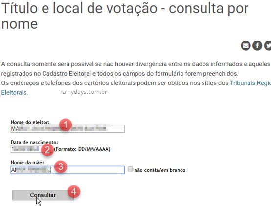 Como descobrir o número do título de eleitor pela internet