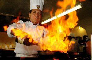 Curso de cozinheiro do SENAC
