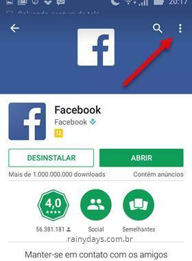 Desativar atualização automática de apps específicos