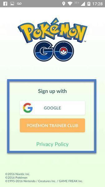 Como deslogar do Pokémon GO