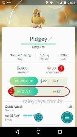 evoluir Pokémon no Pokémon Go 6