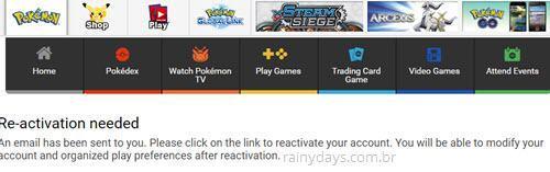 Como mudar email do Pokémon Go 2